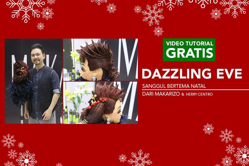 Video Tutorial Sanggul Modern Natal