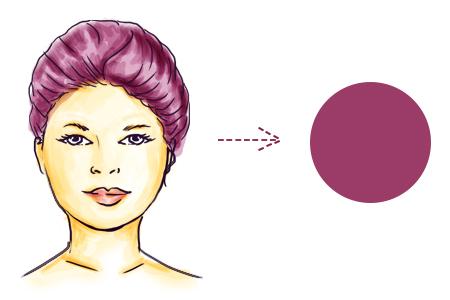 model rambut sesuai bentuk wajah bulat