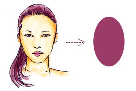 model rambut sesuai bentuk wajah oval