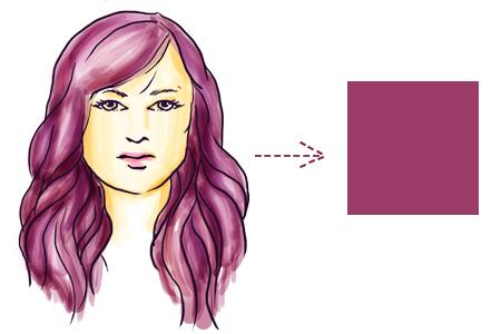 model rambut sesuai bentuk wajah persegi
