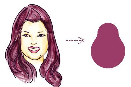 model rambut sesuai bentuk wajah pir