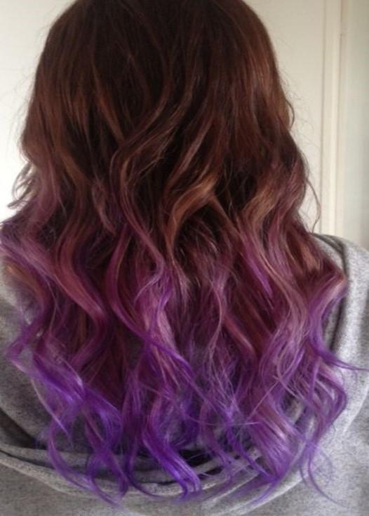warna rambut februari violet