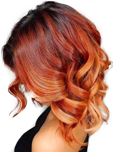 tren warna rambut firely copper