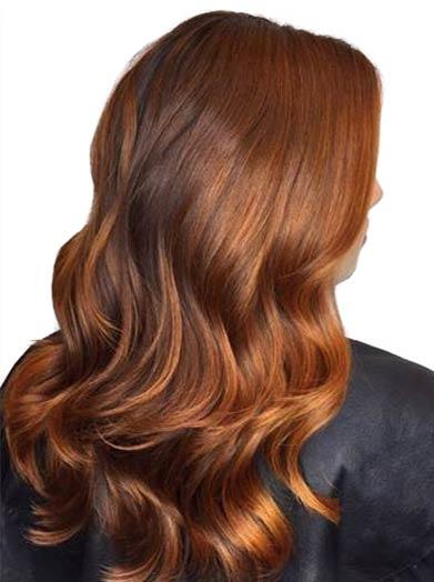 tren warna rambut dark chocolate