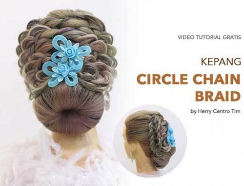 VIDEO TUTORIAL KEPANG CIRCLE CHAIN BRAID