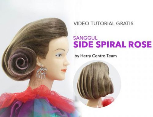 VIDEO SANGGUL MODERN SIDE SPIRAL ROSE