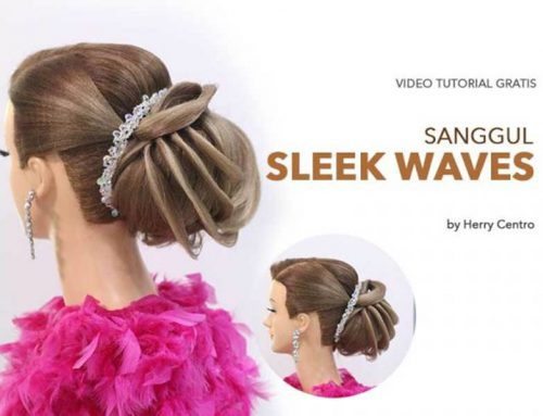 VIDEO TUTORIAL SANGGUL SLEEK WAVES