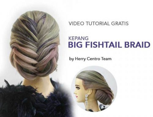 VIDEO TUTORIAL KEPANG BIG FISHTAIL BRAID